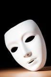 Maskers met theaterconcept Stock Foto