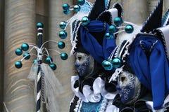 Maskers van Carnaval van Venetië Stock Foto's