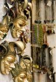 Maskers in Venetië stock fotografie