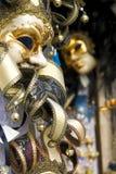 Maskers in Venetië royalty-vrije stock afbeelding