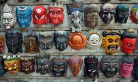 Maskers voor verkoop stock foto