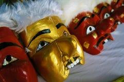 Maski dla Manorah występu Obrazy Royalty Free