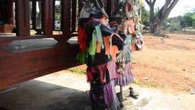 Maski, kostiumowy Phi Kon Nam i tradycja ducha frachtu woda zbiory