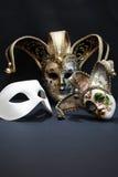 Maski Na zmroku Obrazy Stock