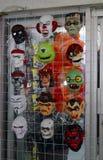 Maski przechują w Mexico dla Halloween Zdjęcia Royalty Free