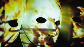 Maski straszny ognisko rozgałęzia się intensywnego zbiory
