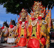Maski Używać dla Świątynnych ceremonii Obrazy Stock