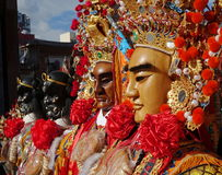Maski Używać dla Świątynnych ceremonii Obraz Stock