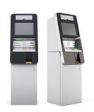 maskin för 3d ATM Arkivfoto