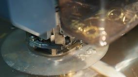 Maskin för gnistaerosion arkivfilmer
