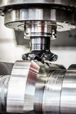 Maskin för MetalworkingCNC-malning Fotografering för Bildbyråer