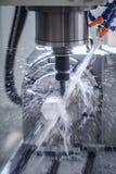 Maskin för MetalworkingCNC-malning Royaltyfria Bilder