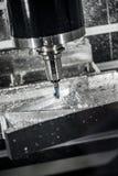 Maskin för MetalworkingCNC-malning Arkivfoto