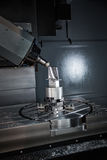 Maskin för MetalworkingCNC-malning Royaltyfri Foto