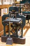 maskin förskjuten gammal printing Arkivfoton