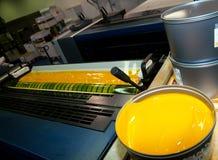 maskin förskjuten pressprinting Royaltyfri Fotografi
