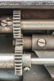 Maskinen särar mekanismen Royaltyfri Foto