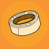 Masking Tape Roll Stock Image