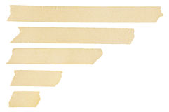 Masking tape streaks Royalty Free Stock Photography
