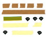 Masking Tape Stripes Stock Photography
