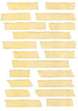 Masking tape textures Royalty Free Stock Image