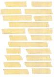 Masking tape textures royalty free stock image