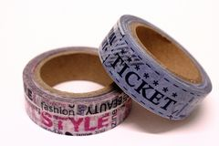 Masking tape Royalty Free Stock Photo