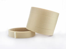 The Masking tape on white background. Stock Photo