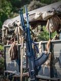 Maskingevär Fotografering för Bildbyråer
