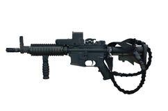 Maskingevär C8 CQB Royaltyfria Foton