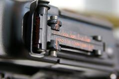 maskinrpd vi för 44 tryckspruta Royaltyfri Foto
