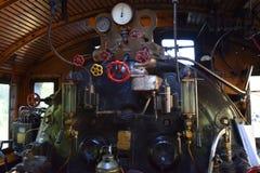 Maskinrum på ånga-motorn Ukko-Pekka grupp Hr1, 1009 fotografering för bildbyråer