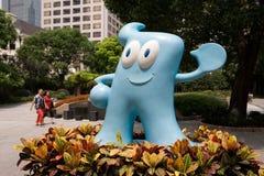 maskot 2010 för porslinexpohaibao shanghai Fotografering för Bildbyråer
