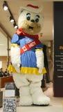 Maskot Hidy för Calgary vinterOS Arkivfoton