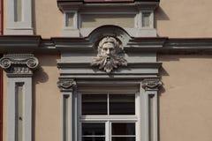 Maskotka ornament budynek zdjęcie royalty free