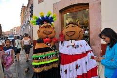Maskotki festiwal Kulturalny Internacional Zdjęcie Royalty Free