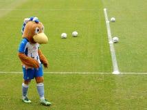 Maskottchen, Colchester United FC, England Lizenzfreie Stockfotos