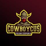 Maskottchen-Cowboy Lizenzfreie Stockfotos