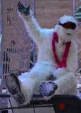 Maskottchen-Yeti Stockbild