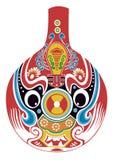 maskowa Beijing opera ilustracja wektor