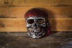 Maskowa czaszka, Halloween Zdjęcie Royalty Free