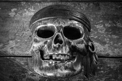 Maskowa czaszka, Halloween Obraz Royalty Free