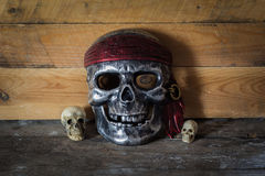 Maskowa czaszka, Halloween Zdjęcie Stock
