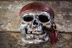 Maskowa czaszka, Halloween Obrazy Royalty Free