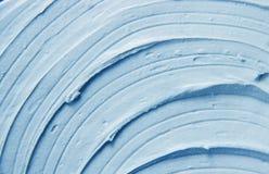 Maskowa glina jest błękitna struktura zdjęcia royalty free