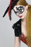 maskowa kobieta Fotografia Stock