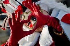 maskowa kobieta Zdjęcie Royalty Free