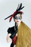 maskowa kobieta Obraz Royalty Free
