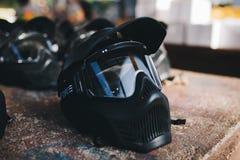 Maskowa ochrona dla Paintabll zdjęcia royalty free