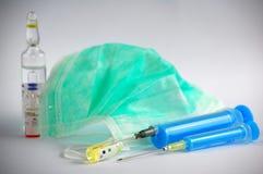 maskowa strzykawka zdjęcie royalty free